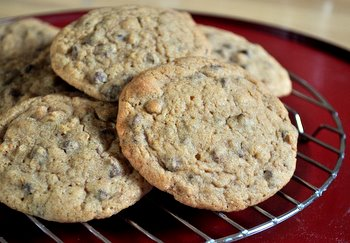 Cappuccino Brown Sugar Chocolate Chip Cookies