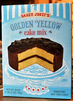 Trader Joe's Yellow Cake Mix