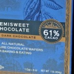 61% Percent Cacao Chocolate