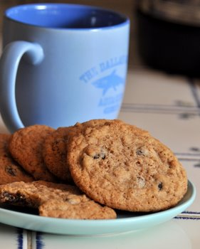 Raisin Bran Spice Cookies