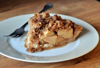 classic apple pie is made with two buttery flaky pie crusts ...