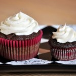 Cupcake and mini cupcake