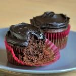 Chocolate Tomato Cupcakes