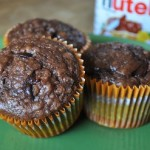 Banana Chocolate Bran Muffins