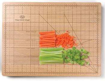 The OCD Chef Cutting Board