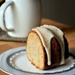 Browned Butter Banana Bundt Glaze