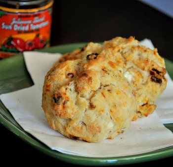 Sun Dried Tomato and Feta Biscuits