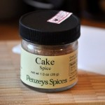 Penzey's Cake Spice