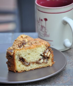 LAUSD Coffee Cake at home