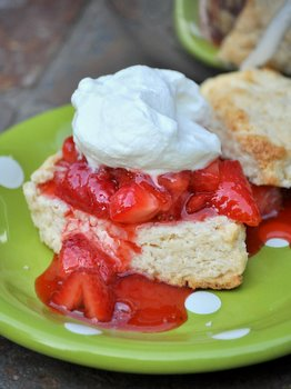 Tropical Strawberry Guava Shortcakes