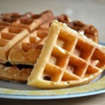 Overnight Buttermilk Waffles