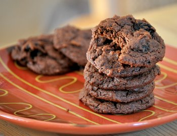 Balsamic Vinegar Fudge Cookies