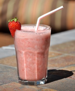 Homemade Strawberry Julius