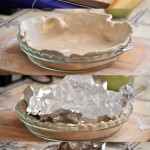 Prebaking a pie crust