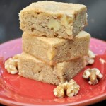 Butterscotch Walnut Blondies