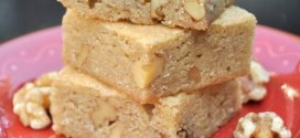 Butterscotch and Walnut Blondies