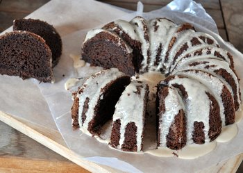Mocha Bundt with Coffee Glaze