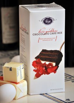 Vosges Love Goddess Chocolate Cake