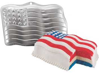 Wilton Stars and Stripes Cake Pan