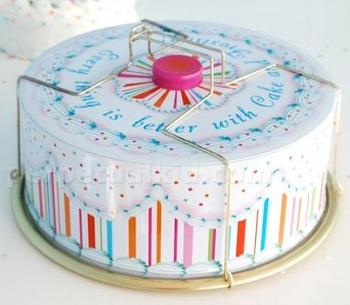Glitterville Vintage Cake Carrier