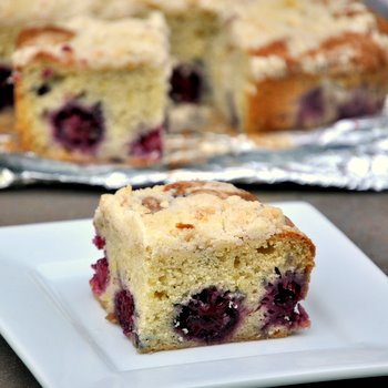 Lemon Blackberry Coffee Cake