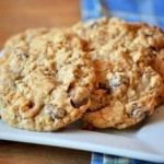 Whole Wheat Oatmeal Chocolate Chunk Cookies