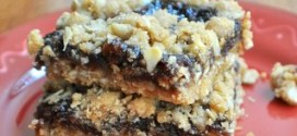 Fig Crumble Bars
