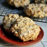 Maple Oat Scones