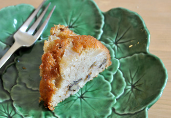 Pear and Walnut Bundt Cake