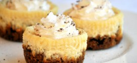 Mini Lemon Cheesecakes with Gingersnap Crusts