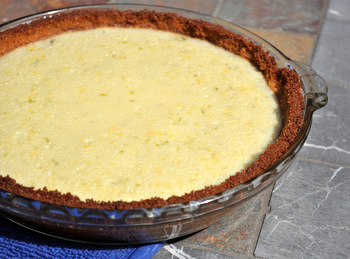 Buttermilk Lime Pie