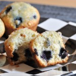 Blueberry Coconut Muffins