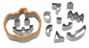 Jack-O-Lantern Cookie Cutter Set