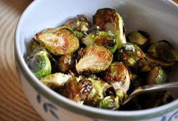 Roasted Brussel Sprouts with Browned Butter
