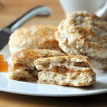 Apple Butter-Stuffed Buttermilk Biscuits