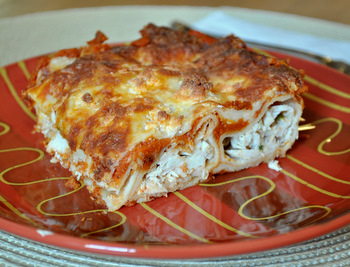 Turkey Enchiladas with Pumpkin Chipotle Sauce
