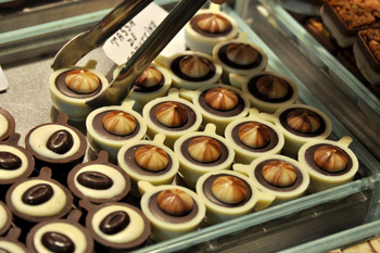 Chocolates at La Boqueria Market