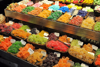Candies at La Boqueria Market
