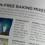 Everyday Food rates Gluten Free Baking Mixes