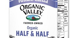 What is half and half?
