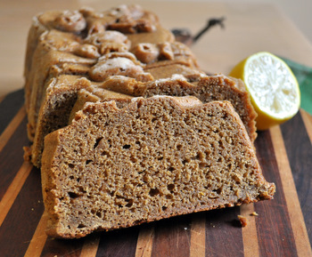 Meyer Lemon Gingerbread