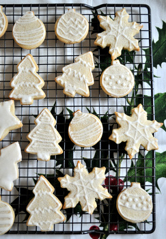 Classic Christmas Cutout Cookies Baking Bites