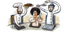 WSJ Reviews Online Cooking Schools