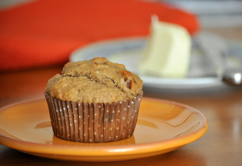 Whole Wheat Banana Nut Muffins