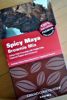 Chuao Chocolatier Spicy Maya Brownie Mix