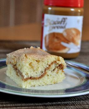Biscoff Swirl Coffee Cake