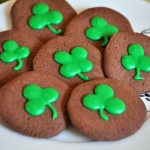 Shamrock Chocolate Cookies