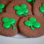 Shamrock Chocolate Cookies