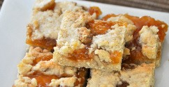 Lemon Apricot Walnut Bars