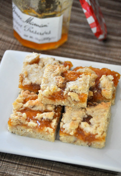 Apricot Walnut Bars